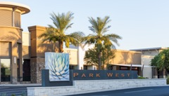 Exterior Shot of Park West
