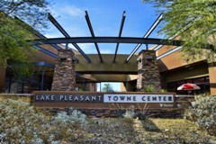 Exterior Shot of Lake Pleasant Towne Center